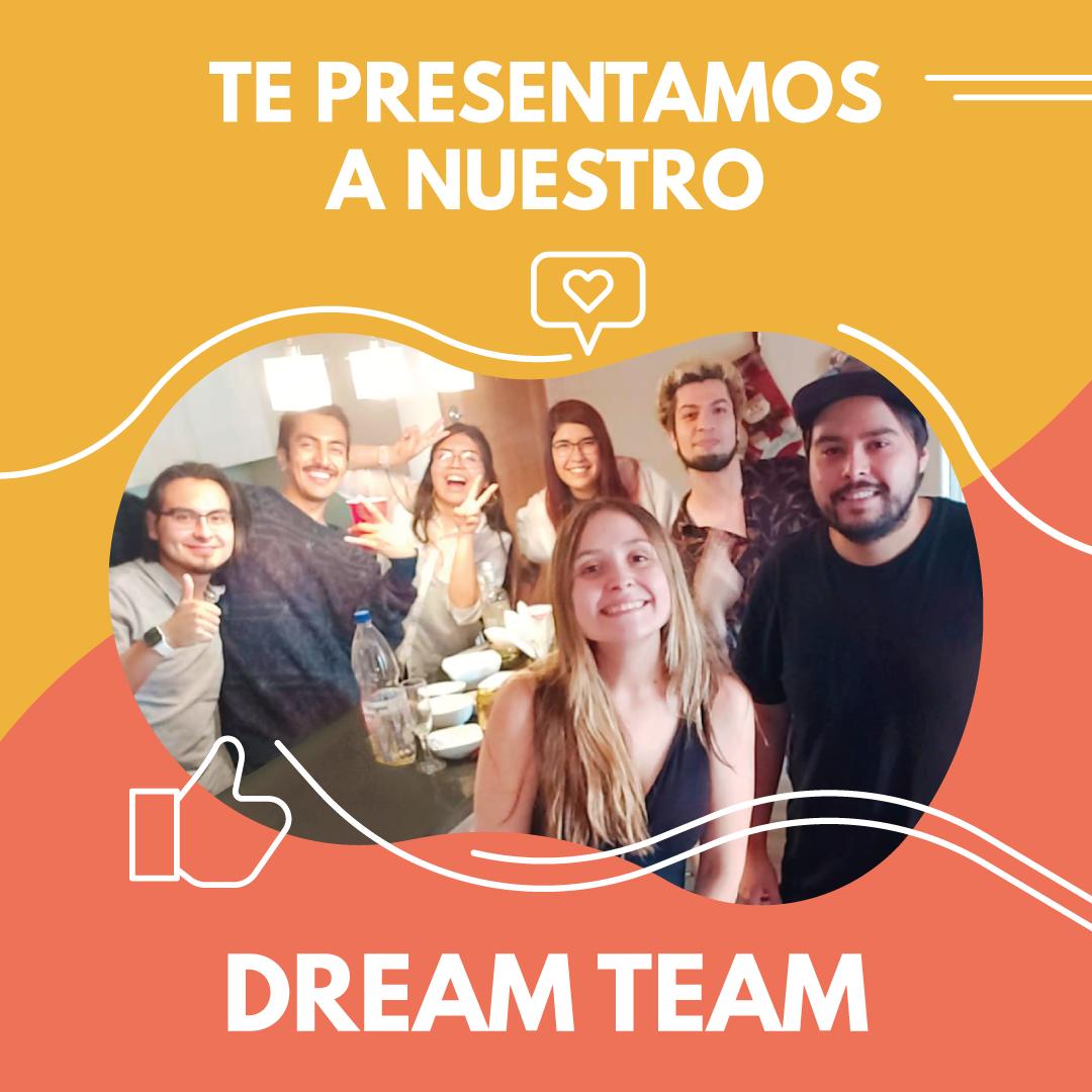 Dream Team - Foto del equipo completo celebrando